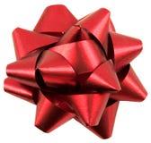 Décor rouge de cadeau Image stock