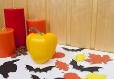 Décoration à la maison pour Halloween Photos libres de droits