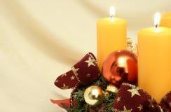 Décoration 2 de Noël Photographie stock