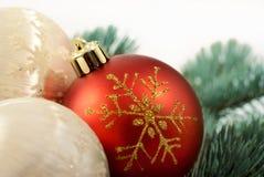 Décoration 3 de Noël Photos libres de droits