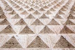 Décoration architecturale de modèle géométrique Images stock