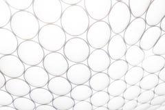 Décoration blanche de plafond de prise de lumière de cercle Image stock
