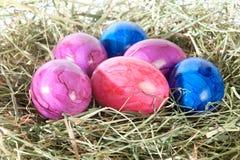 Décoration chez Pâques et brillamment Image libre de droits