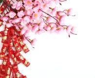 Décoration chinoise d'an neuf images libres de droits