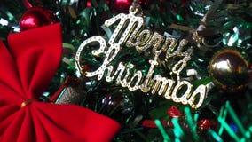 Décoration classique de Noël images stock