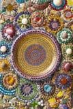 Décoration colorée de mur images libres de droits