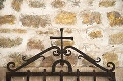 Décoration d'église Photographie stock