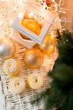 Décoration d'époque de Noël Image libre de droits