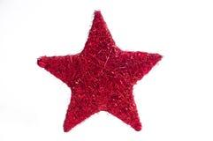 Décoration d'étoile de Noël Image libre de droits