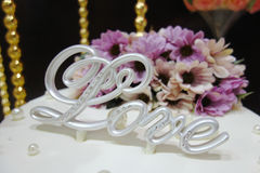 Décoration d'amour Photos libres de droits