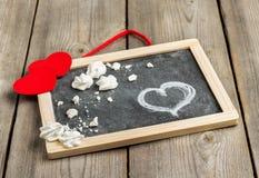 Décoration d'amour et de Valentine Day Image libre de droits