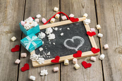 Décoration d'amour et de Valentine Day Image stock