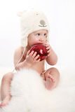 Décoration d'arbre de Noël Photos stock