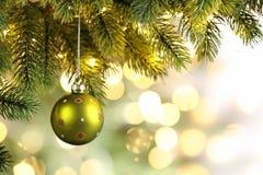 Décoration d'arbre de Noël image libre de droits