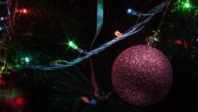 Décoration d'arbre de Noël Photographie stock