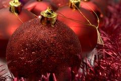 Décoration d'arbre de Noël Photo stock