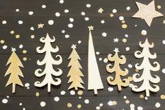 Décoration d'arbre de Noël fabriquée à partir de le papier Photo libre de droits
