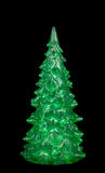 Décoration d'arbre de Noël, un sapin vert Photos stock