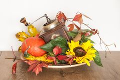 Décoration d'automne Photo stock