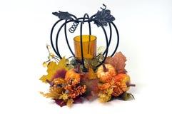 Décoration d'automne de potiron Image libre de droits