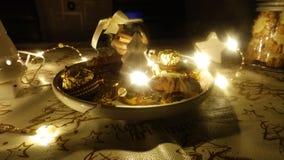 Décoration d'hiver, Noël d'amour, pays des merveilles Images libres de droits