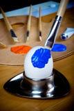Décoration d'oeuf de pâques Image stock