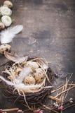Décoration d'oeufs de pâques Image libre de droits
