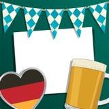Décoration d'Oktoberfest Photographie stock libre de droits