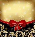 Décoration d'ornamental de vacances de Noël Images libres de droits