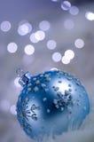 Décoration de babiole de l'hiver Photos stock