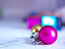 Décoration de bille de Noël Photo libre de droits