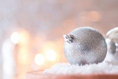 Décoration de bille de Noël image stock