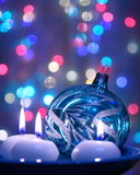 Décoration de boule de Noël - photos courantes Image libre de droits