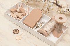 Décoration de cadeau Photographie stock