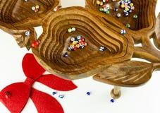 Décoration de cadeau de Noël Images stock