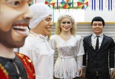 Décoration de carnaval du ` s d'Olinda Photos stock