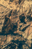Décoration de caverne Photographie stock