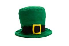 Décoration de chapeau de jour de rue Patricks Image stock