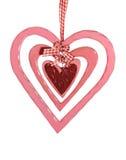 Décoration de coeur de Valentines Images stock