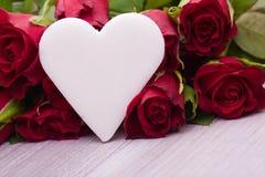 Décoration de coeur pour épouser Images libres de droits