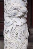 Décoration de dragon dans le palais impérial en Hue, Vietnam photos stock