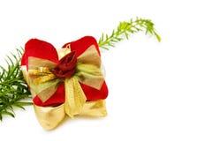 Décoration de fête de cadeaux de Noël Images stock