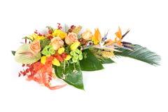 Décoration de fleur Images libres de droits