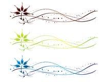 Décoration de fleur de vigne illustration stock
