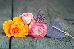 Décoration de fleur pour le jour de mères Image libre de droits