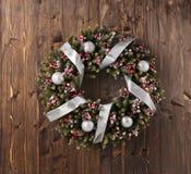 Décoration de guirlande d'Advent Christmas Photos libres de droits