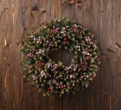 Décoration de guirlande d'Advent Christmas Photo libre de droits