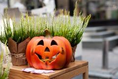 Décoration de Halloween de chute Photographie stock