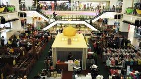 Décoration de Hari Raya dans le centre commercial Images stock