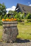 Décoration de jardin d'été Image libre de droits
